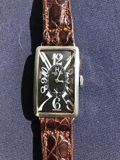 Vintage Hermes Art Deco Tank Watch