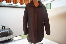 FUCHS SCHMITT Damen Winter Jacke Steppjacke Mantel Caban Gr.40 glanz braun #96