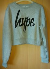 Ladies BNWOT Grey Cropped Hype Jumper 14