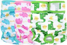 wegreeco Luxury Washable Reusable Dog Diapers Stylish Pattern - Durable Female 3