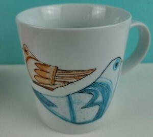 "Crate & Barrel ""Early Bird"" Mug"