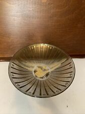 New listing Mid- Century Modern Georges Briard Abstract Textured Glass Bowl-Desert Tray