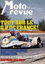 MOTO REVUE 2320 YAMAHA XS 360 Grand Prix France au Castellet FIM 750 DIJON 1977