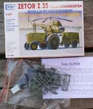 Traktor Zetor Z35 mit Diesel Generator   - 1:87