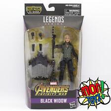 Black Widow Marvel Legends Infinity War  Action Figure BAF Cull Obsidian