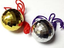 5 Color Disco Ball Deco with Necklace Rock Band Dancing Birthday Party Favors