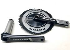 ROTOR 3D AERO 53/39 130BCD crankset, 172.5mm crank arms, BBright or BB30, NEW