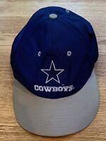 Vintage Dallas Cowboys Competitor NFL Blue Adjustable Snapback Hat Cap Starter