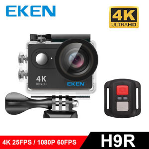 Free Bonus New 2020 Model EKEN H9R REMOTE ULTRA HD 4K  CAMERA BLACK set 1