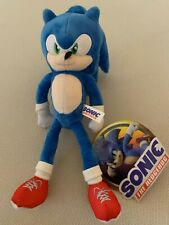 NEW Sonic the Hedgehog Movie 2020 Plush, 10 - 12 inch Toy Factory w/ Tag.