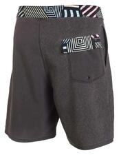 Size 38 Mens Rip Curl Geo Vibes Boardshorts Boardies Board Shorts - Cbofj1 Black