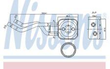 NISSENS Radiador de aceite, aceite motor VOLKSWAGEN GOLF SEAT LEON TOLEDO 90685