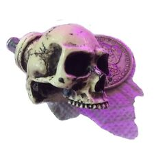 Skull Drawer Pull Knob Skeliton Made in USA Gothic Cabnet BawdyPartz 31DP