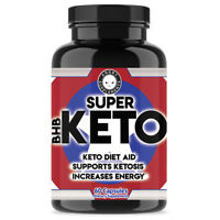 Angry Supplements Super Keto BHB Salts, Ketogenic Diet Aid, Ketosis Weight Loss
