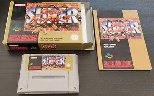 [Super Nintendo / SNES] Jeu Super Street Fighter 2 complet PAL (FAH)