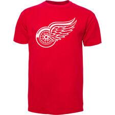 Detroit Red Wings NHL Hockey 47 Brand Mens Red Fan T-Shirt Size Medium
