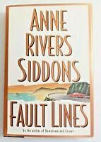 Fault Lines A Novel Anne Rivers Siddons Hardback Vintage 1995 Drama Romance