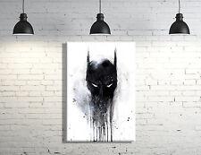 Batman framed Canvas Wall Art