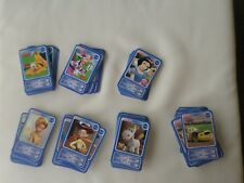 Lot de 10 cartes à collectionner AUCHAN - LES HEROS DISNEY PIXAR