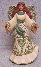 Figurine Easter Emerald Isle Island Irish Angel Jim Shore NEW with gift box