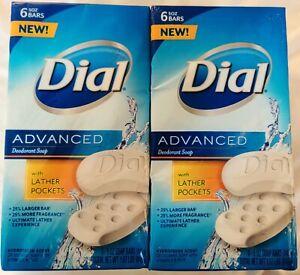 Dial Advanced Bar Soap 12 bars Hydrofresh Scent, 5 oz/ea