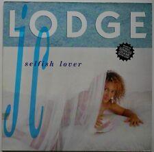 LP UK**JC LODGE - SELFISH LOVER (GREENSLEEVES RECORDS '90)**27070
