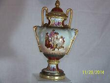 Antique Austrian Imperial Vase BeeHive Mark Gold Gild