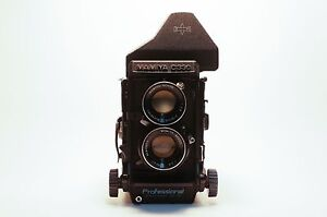 Mamiya C330 with ELP & 80mm F2.8 Blue Dot Lens Perfect Working. Free Shipping