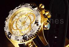 Invicta Men's Excursion Gold-tone Silicone Band Steel Case Quartz Watch 24274