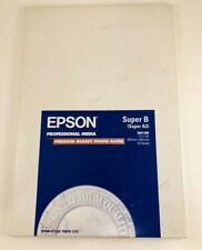 Epson Professional Glossy Photo Quality Paper Super B A3 S041289 13x19 20 Sheet