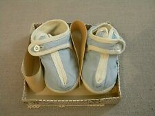 Vintage Toddletime Baby Boy Crib Shoes Slippers Size 1