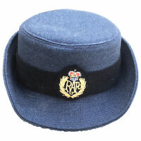 Womans WRAF No1 Dress RAF Uniform Parade Hat Blue British Army Surplus Female UK