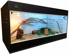Reptile Cage Critter Condo,Snake,Lizard,Bearde d Dragon 36X24X24 Bw + T5Ho Light!