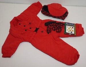 AMERICAN GIRL OF TODAY ~ Red Dogsled Outfit ~ 2007
