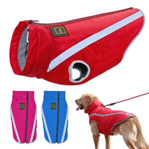 Dog Coat Waterproof Reflective Pet Clothes for Big Dogs Jacket Labrador XL-6XL