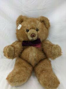 "Russ Benjamin Brown Bear Plush 16"" Stuffed Animal Toy"