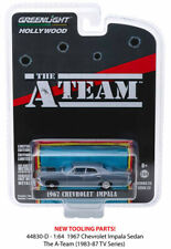 A Team 1967 Chevy Impala Hollywood Series 23 Greenlight Diecast 1/64