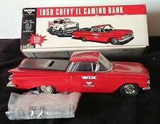 *REDUCED*  1959 Chevy El Camino #99009 with 1957 Drag Car & Trailer #99010 Banks