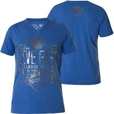 Affliction t-shirt Speed Metalworks azul t-shirts
