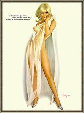 Vintage Glamour Burlesque Risque und Erotik Druck