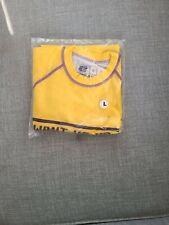 Want Vs. Need Ls Rashguard Gold/Purple - Adult Size L
