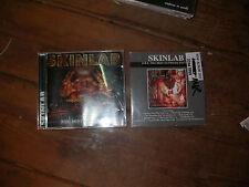 2 X SKINLAB CD ALBUMS . rock metal THRASH NU DEATH mosh