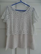 Girl's H&M L.O.G.G. 2-in-1 Top Age 8-10 (comes up small so may fit 7-8?)