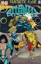FANTASTIC FOUR : ATLANTIS RISING # 2<>MARVEL COMICS<>1995<>ACETATE COVER<>vf+