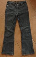 blaue Damen-Jeans Schlag-Hose Street One W26 34 XS Salma long Stretch-Jeans blau
