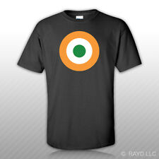 Indian Air Force Roundel T-Shirt Tee Shirt Free Sticker India IAF IND IN
