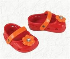 Doll Clothes Sandals Maryjane fit 18 inch American Girl® RED/ORANGE