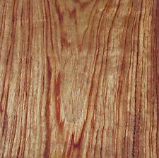 """African Bubinga Kewazinga wood veneer 5"""" x 5"""" with paper backer"""