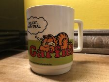 New ListingRare Vintage 1978 Garfield Have A Nice Day Plastic Coffee Mug! Tea Cat Cup Deka