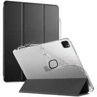 iPad Pro 11 2020 Tablet Case [w/Auto Wake/Sleep] Magnetic Leather Cover Black